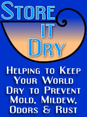 Prevent Mold, Mildew, Rust and Odors with Dry Storage products from Store It Dry